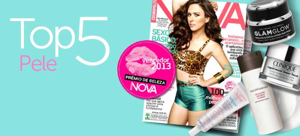Melhores produtos de pele - Prêmio NOVA