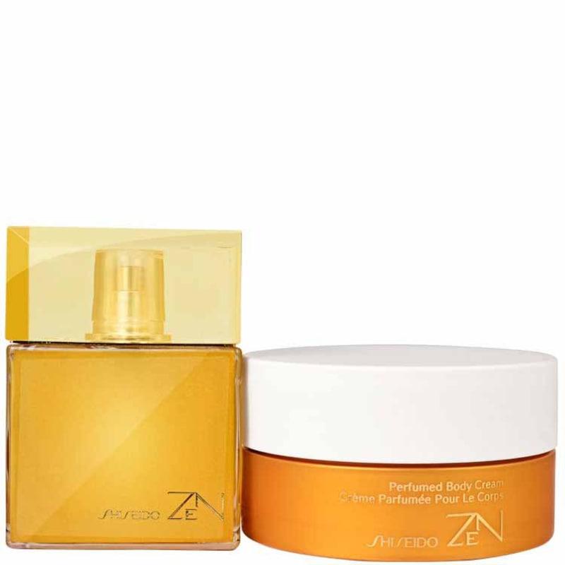 Conjunto Zen Shiseido Feminino - Eau de Parfum 100ml + Body Cream 200ml