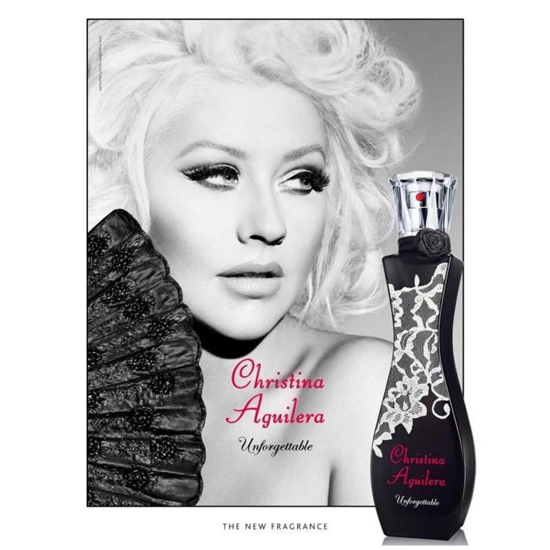 Resultado de imagem para Unforgettable Christina Aguilera - Perfume Feminino - Eau de Parfum