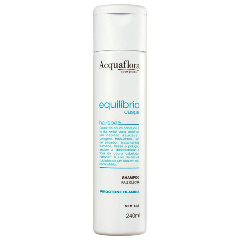 Acquaflora Equilíbrio Caspa Raiz Oleosa - Shampoo 240ml