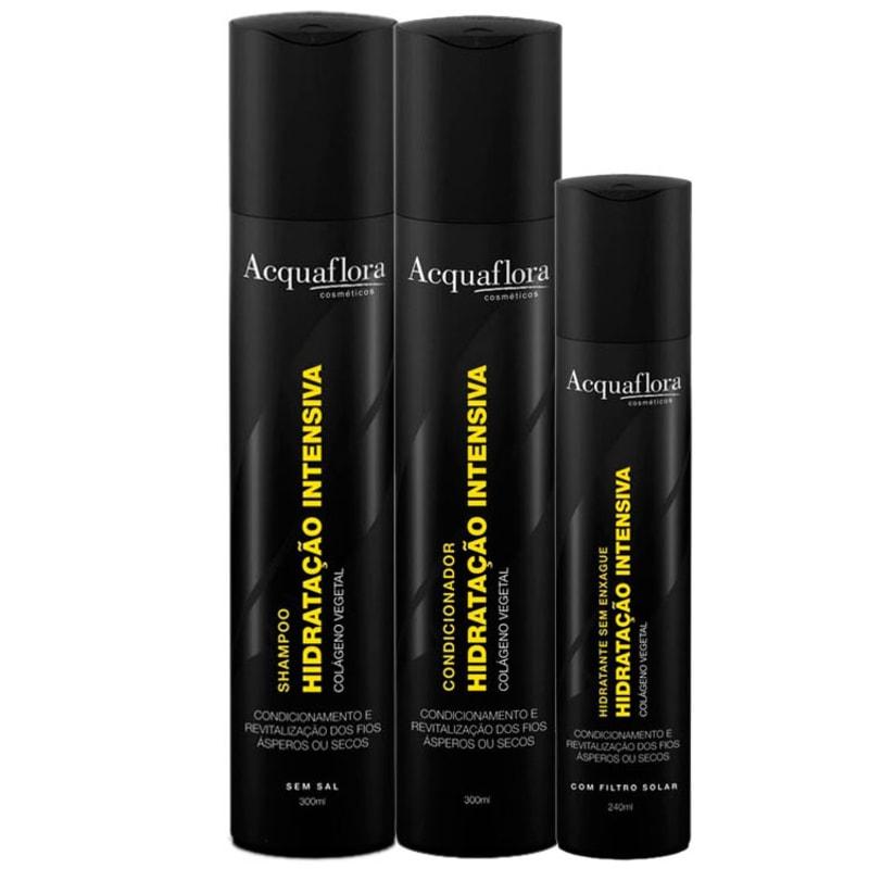 Acquaflora Hidratação Intensiva Kit (3 Produtos)