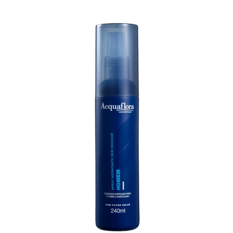 Acquaflora Homem Normais Spray Hidratante Sem Enxágue - Leave-In 240ml