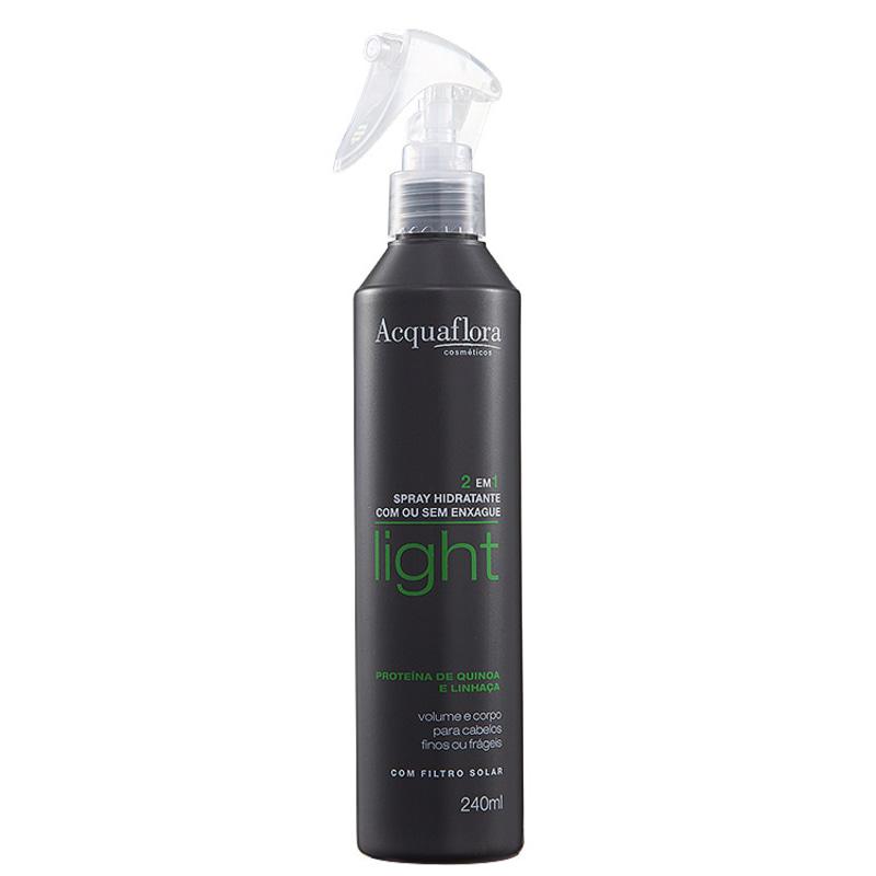 Acquaflora Light 2 em 1 Spray Hidratante Com ou Sem Enxágue - Condicionador 240ml