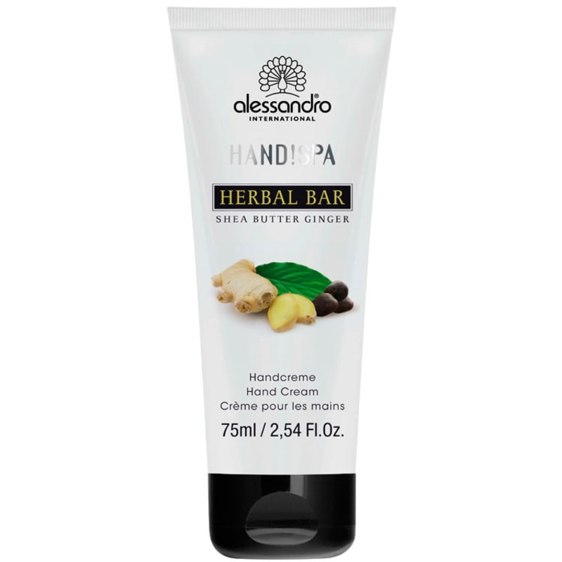 Alessandro Flower Bar Hand Cream Shea Butter Ginger - Creme para Mãos 75ml