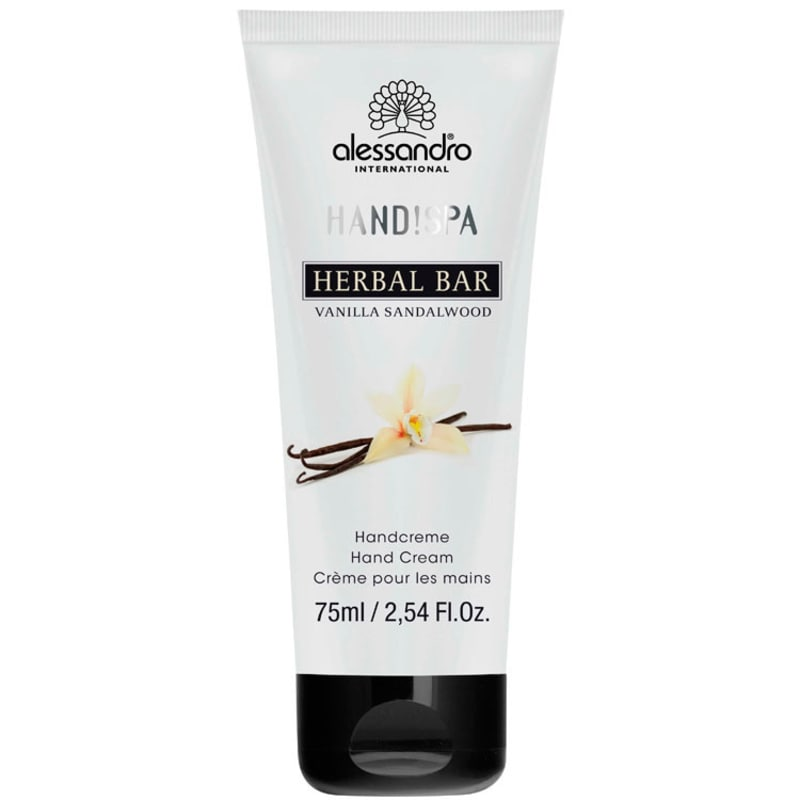 Alessandro Flower Bar Hand Cream Vanilla Sandalwood - Creme para Mãos 75ml