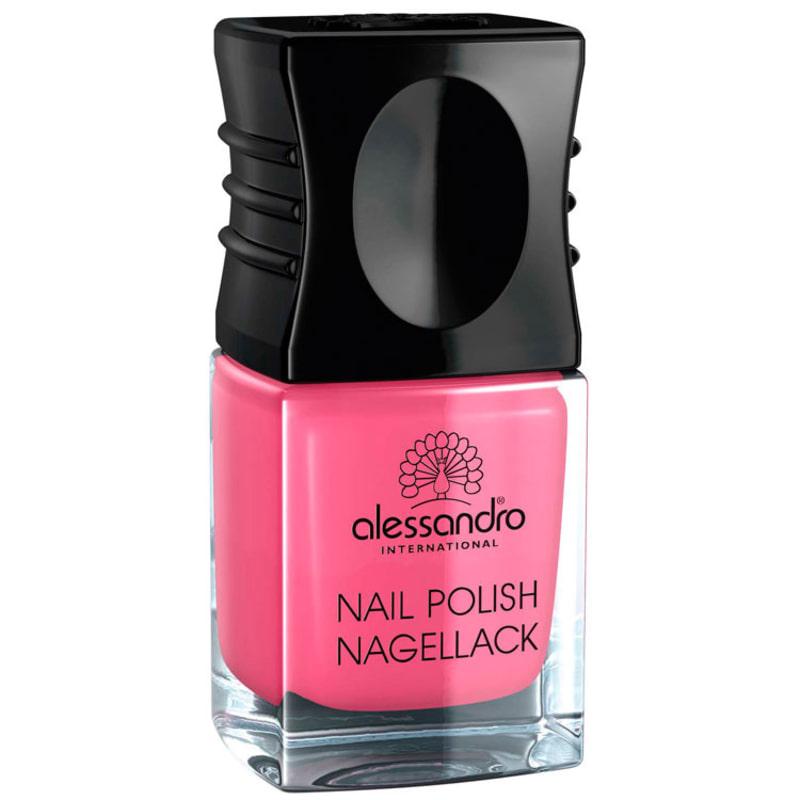 Alessandro Nail Polish Neon Pink - Esmalte 10ml
