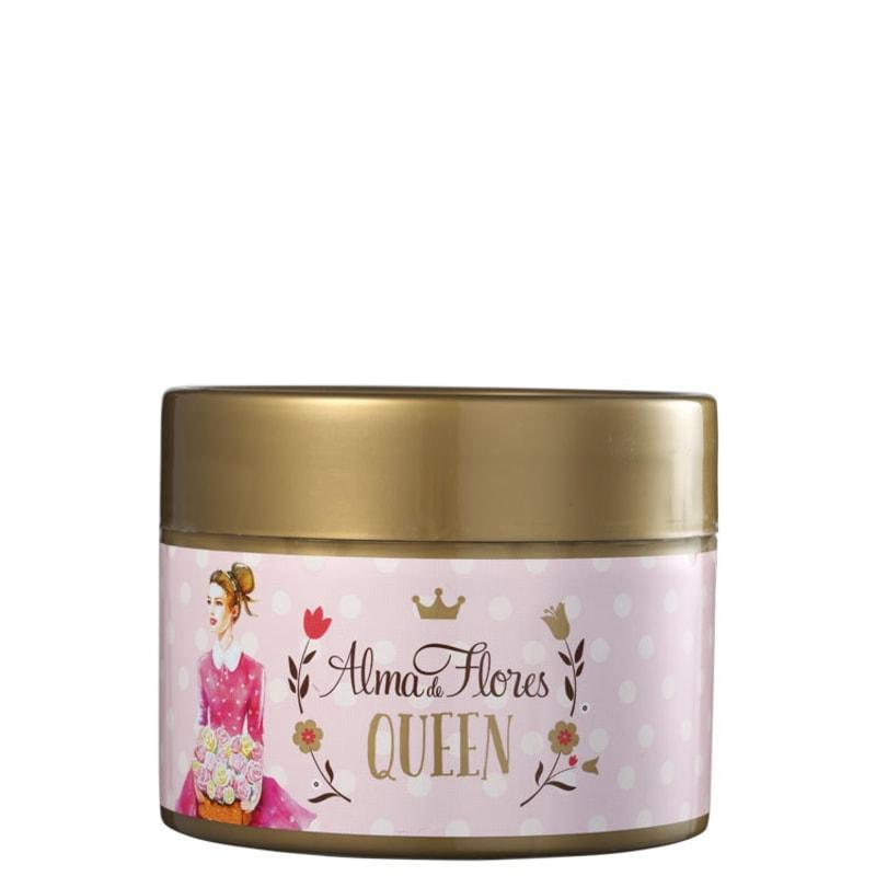 Alma de Flores Queen Talco Desodorante Perfumado Iluminador - Talco 100g