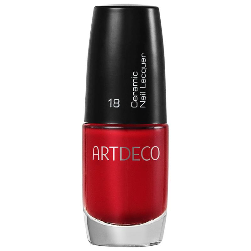Artdeco Ceramic Nail Lacquer 18 Apple Red - Esmalte Cremoso 6ml