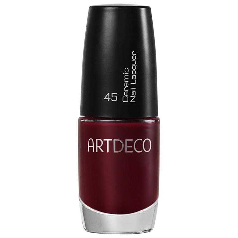 Artdeco Ceramic Nail Lacquer 45 Sinuous Claret - Esmalte Cremoso 6ml