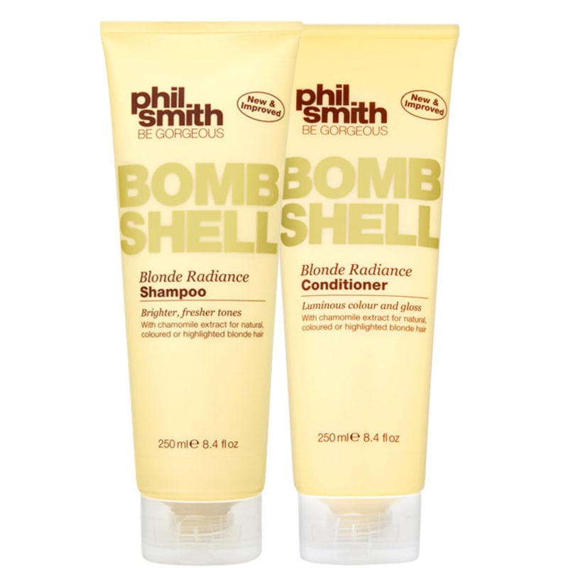 Phil Smith Bombshell Blonde Radiance Duo Kit (2 Produtos)