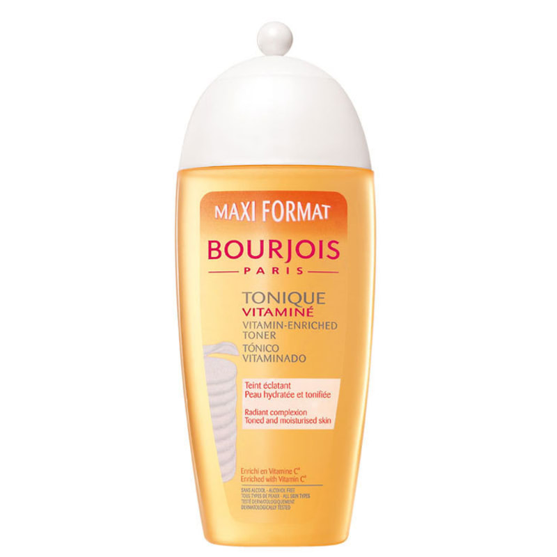 Bourjois Tonique Vitaminé - Loção Tônica de Limpeza Facial 275ml