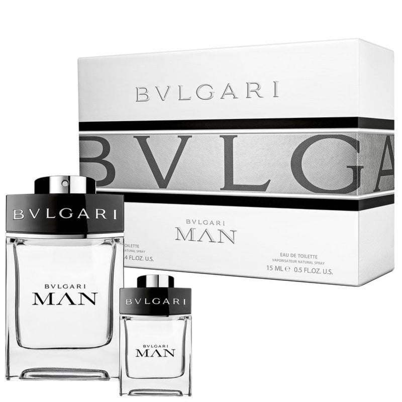 Conjunto Bvlgari Man Masculino - Eau de Toilette 100ml + Eau de Toilette 15ml