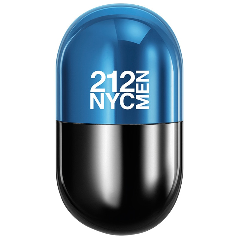212 Men Pills Carolina Herrera Eau de Toilette - Perfume Masculino 20ml