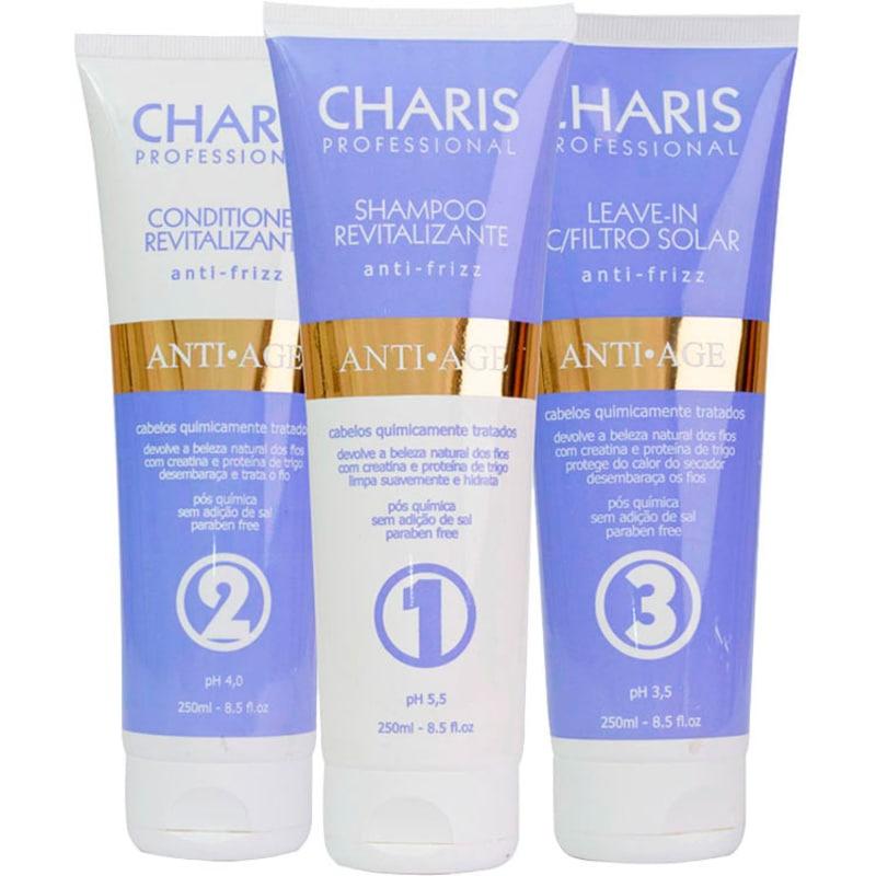 Charis Anti Age Kit (3 Produtos)