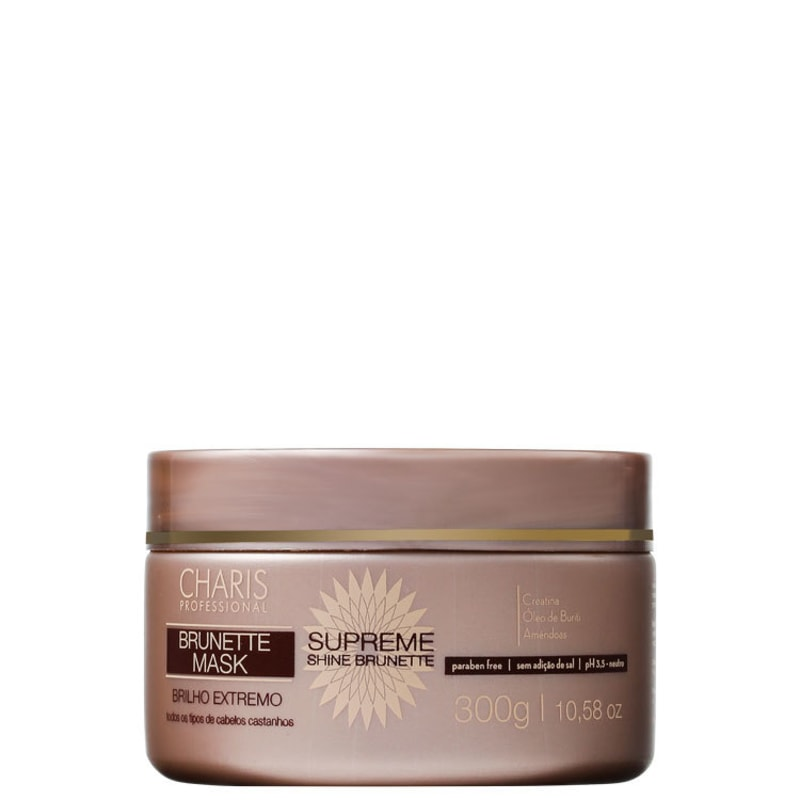 Charis Supreme Shine Brunette Mask - Máscara 300g