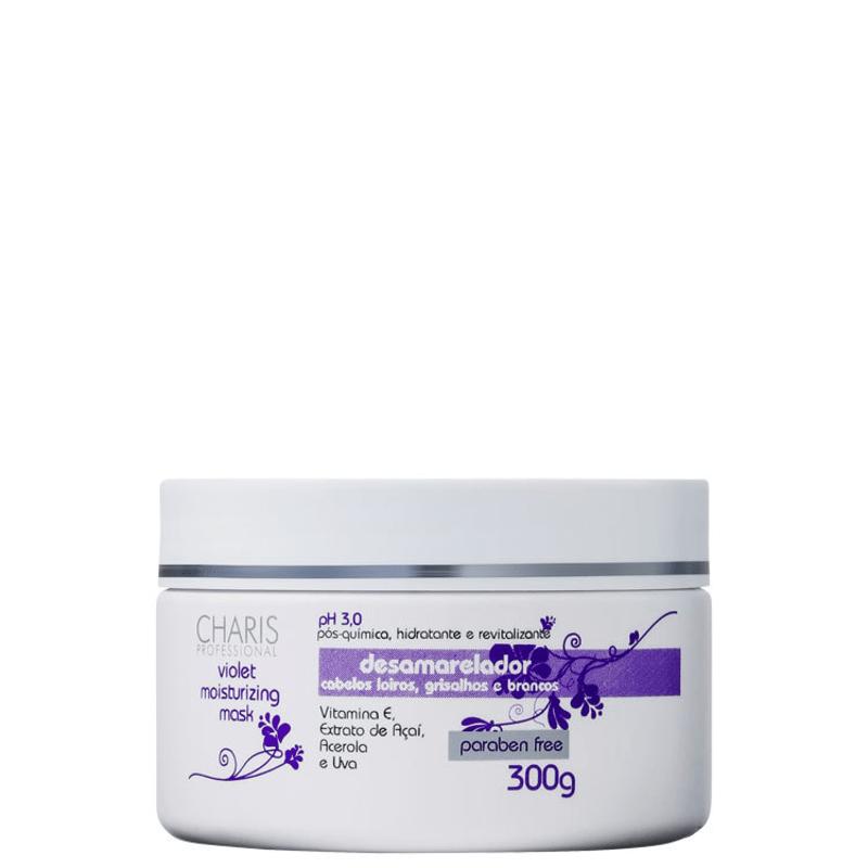 Charis Violet Moisturizing Mask - Máscara de Tratamento 300g