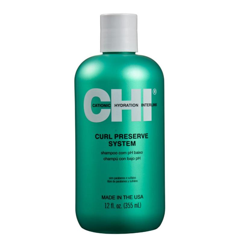 CHI Curl Preserve System - Shampoo 355ml