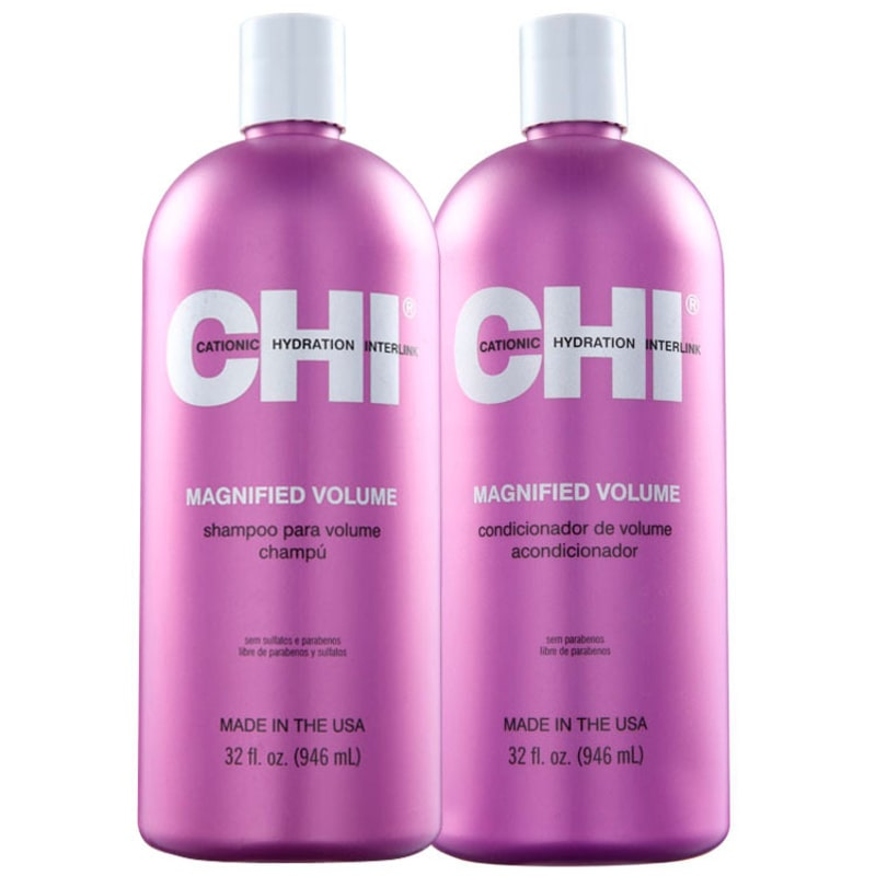 CHI Magnified Volume Salon Duo Kit (2 Produtos)