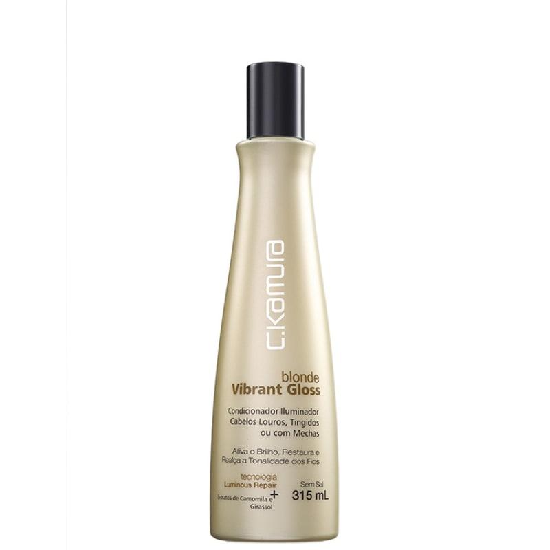 C.Kamura Blonde Vibrant Gloss – Condicionador 315ml