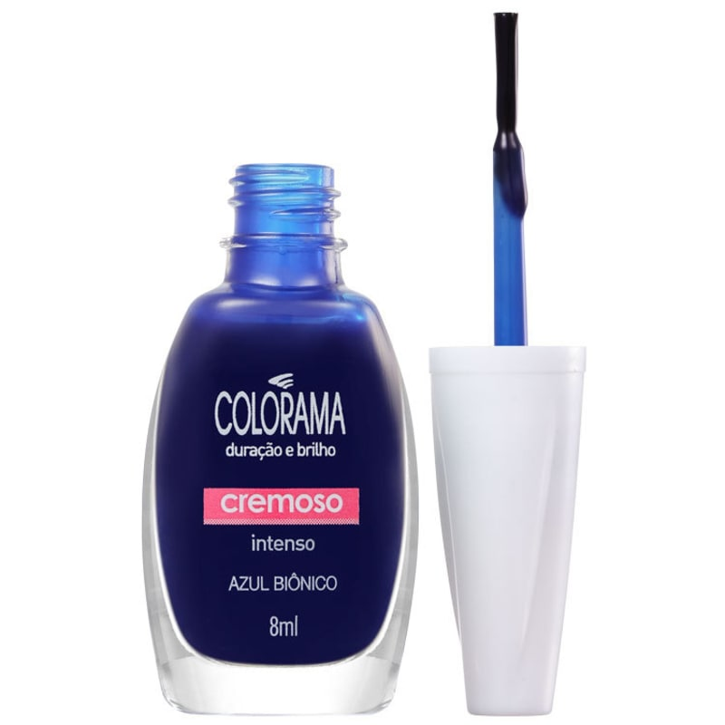 Colorama As Super Cores Azul Biônico - Esmalte Cremoso 8ml