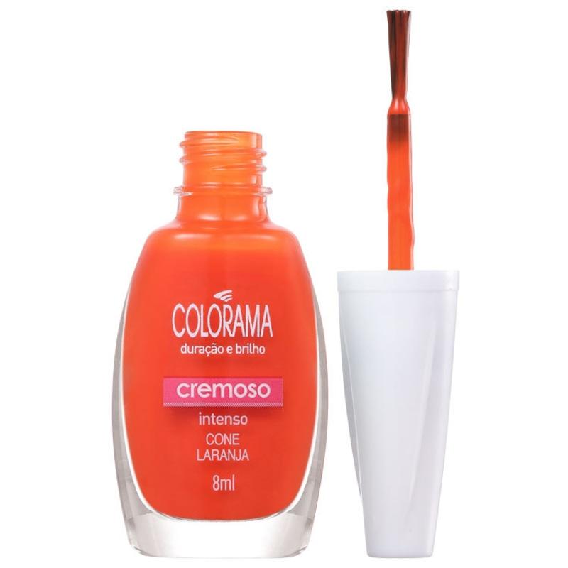 Colorama Forma em Cor Cone Laranja - Esmalte Cremoso 8ml