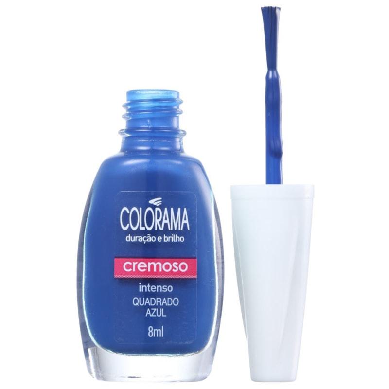 Colorama Forma em Cor Quadrado Azul - Esmalte Cremoso 8ml