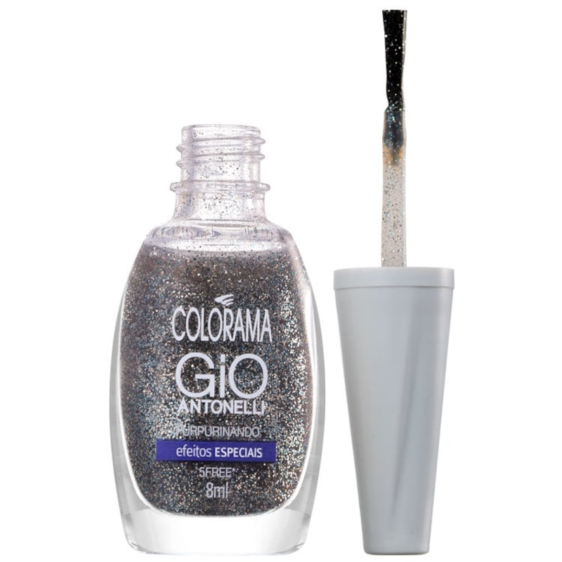 Colorama Gio Antonelli Purpurinando - Esmalte Glitter 8ml