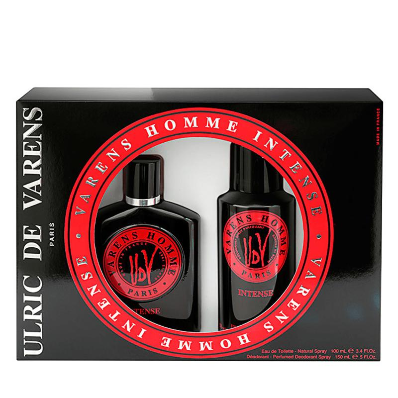 Conjunto Varens Homme Intense Ulric de Varens Masculino - Eau de Toilette 100ml + Desodorante 150ml
