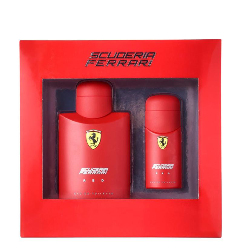 Conjunto Scuderia Ferrari Red Masculino - Eau de Toilette 125ml + Eau de Toilette 30ml