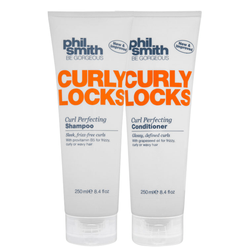 Phil Smith Curly Locks Curl Perfecting Duo Kit (2 Produtos)