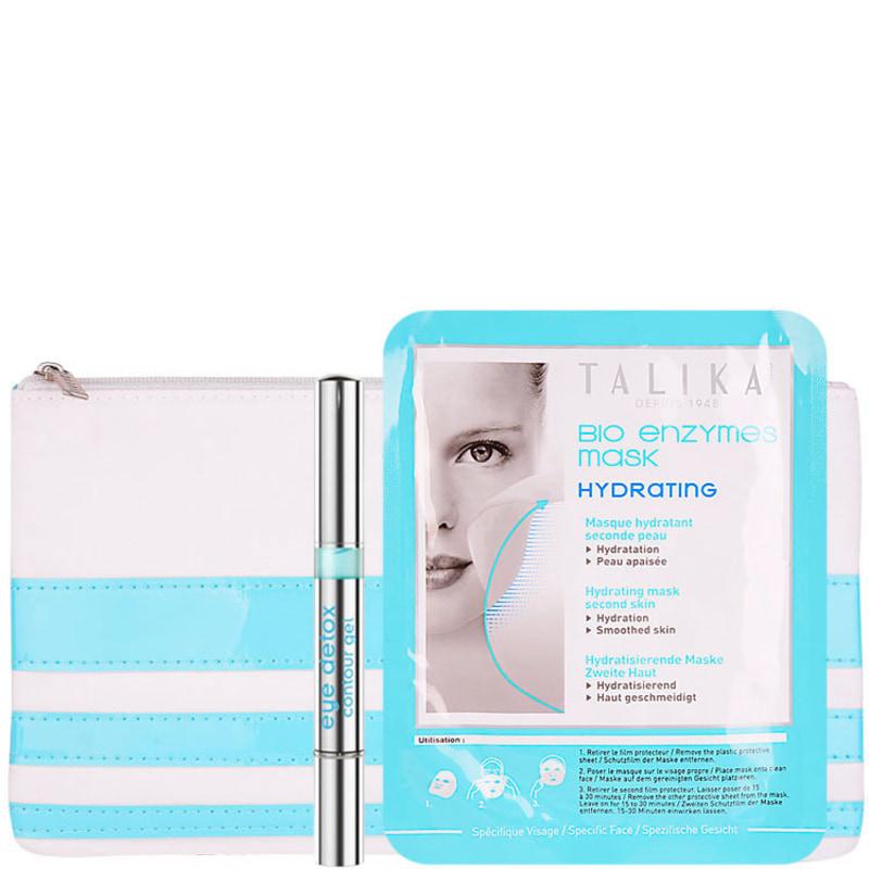 Talika Detox & Hydrate Kit (2 Produtos + Nécessaire)