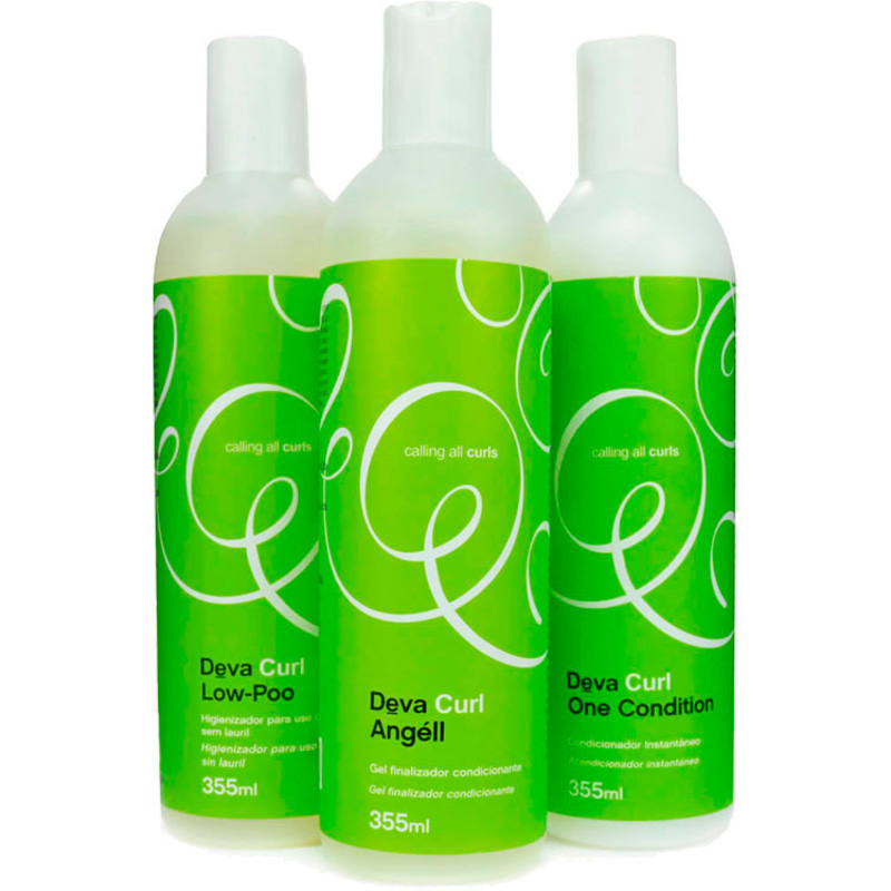 Deva Curl Angell Kit (3 Produtos)