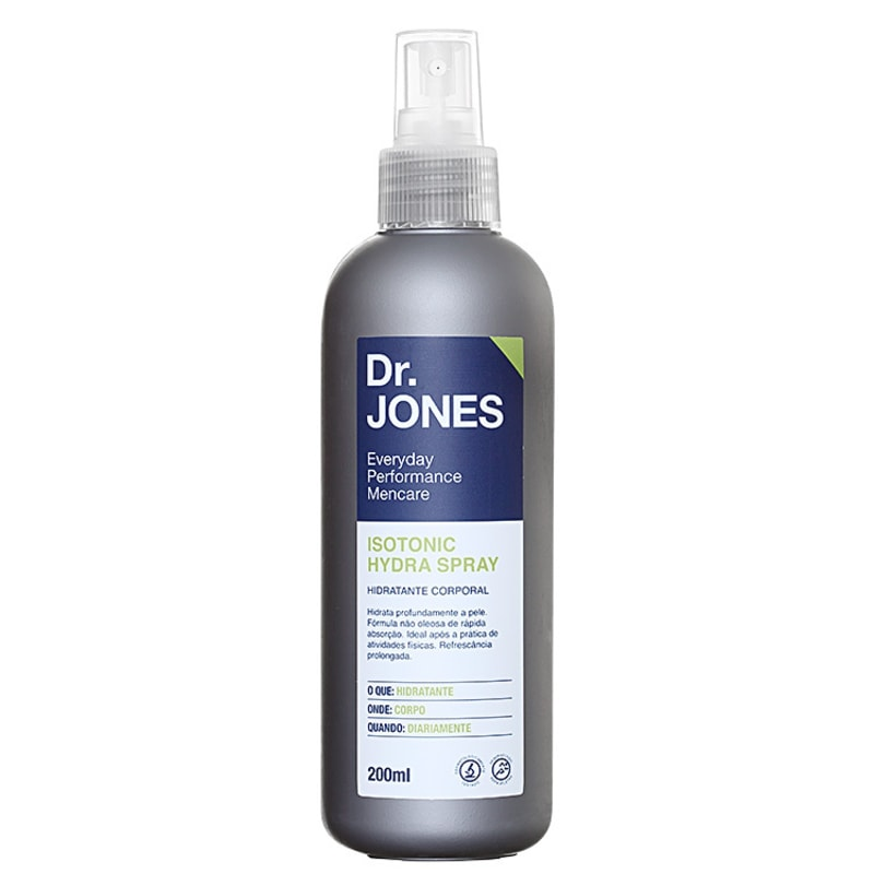Dr. Jones Isotonic Hydra Spray - Hidratante Corporal 200ml