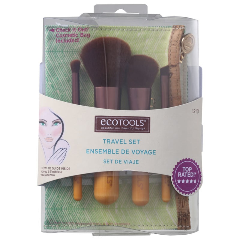 Kit de Pincéis Ecotools Five Piece Mineral (4 produtos)