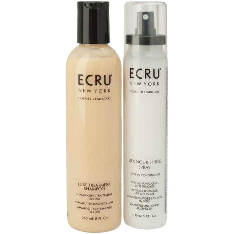 Ecru New York Luxe Silk Duo Kit (2 Produtos)