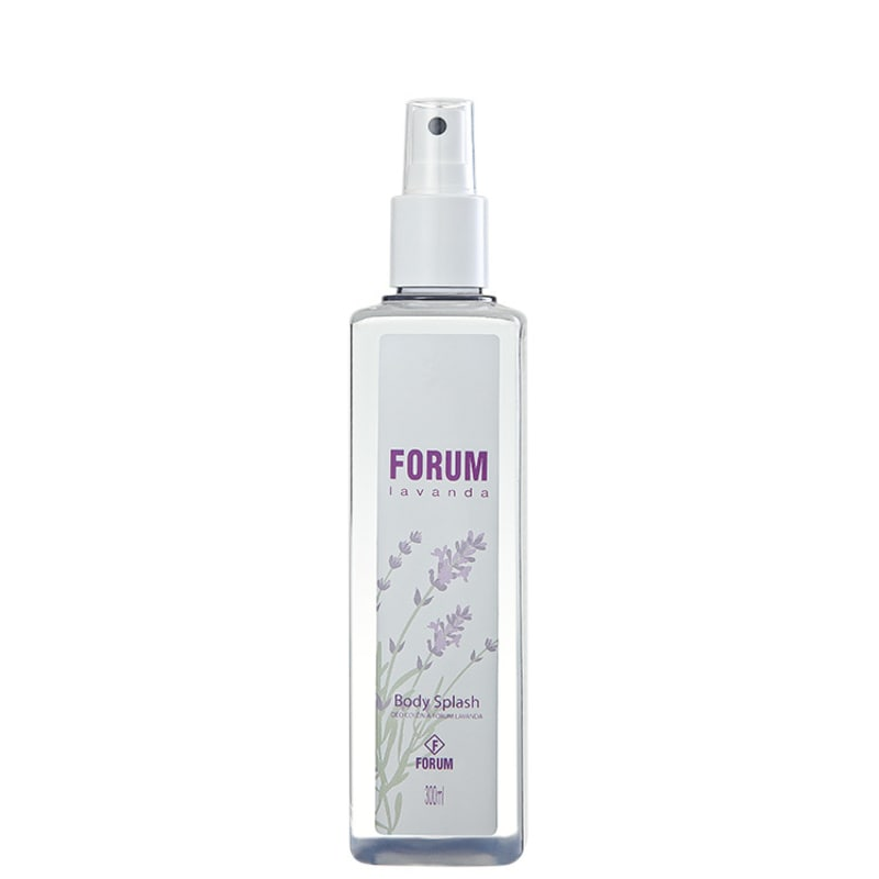 Forum Lavanda Body Splash - Body Spray Feminino 300ml