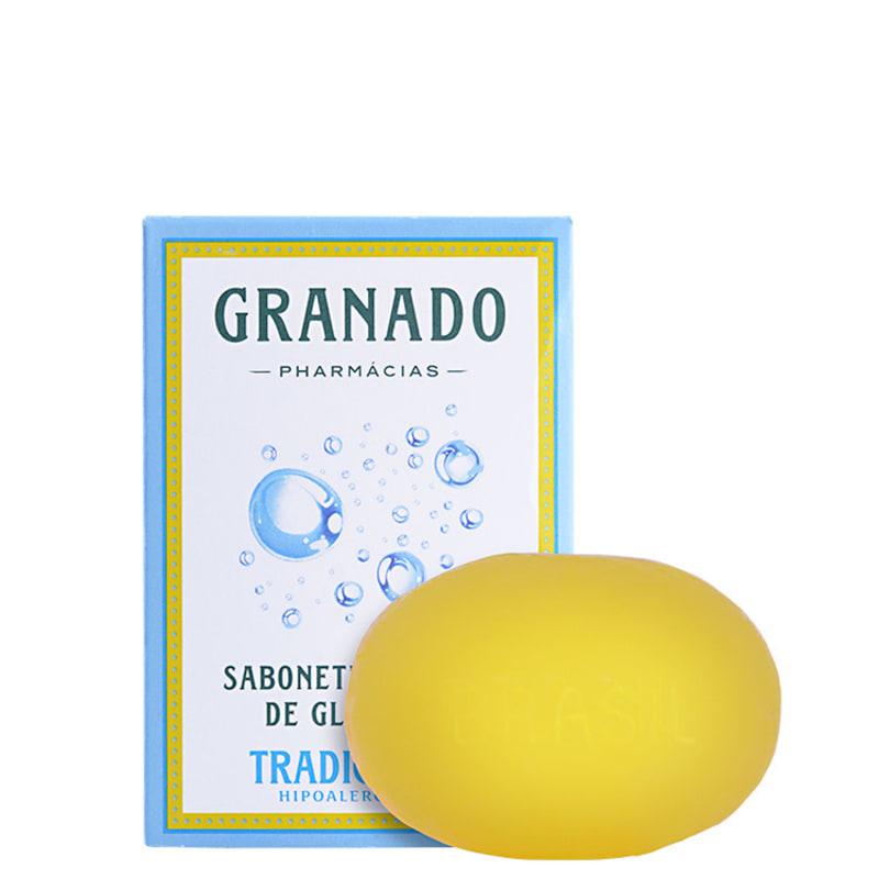 Granado Sabonete Vegetal de Glicerina Tradicional - Sabonete em Barra 90g
