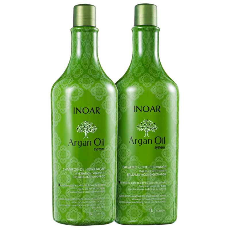 Inoar Argan Oil Salon Duo Kit (2 Produtos)