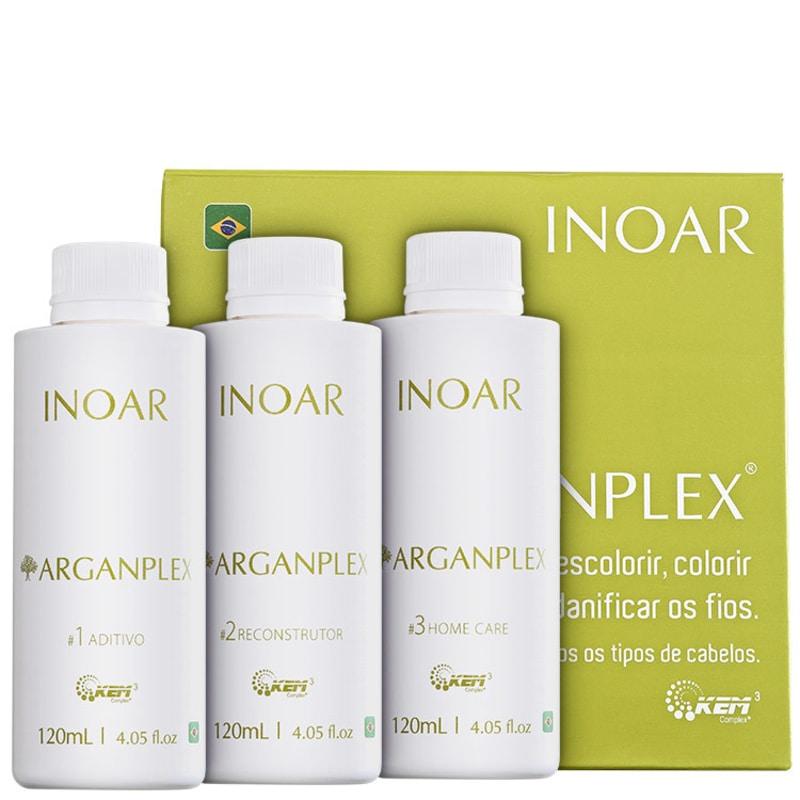Inoar Arganplex Trio Kit (3 produtos)