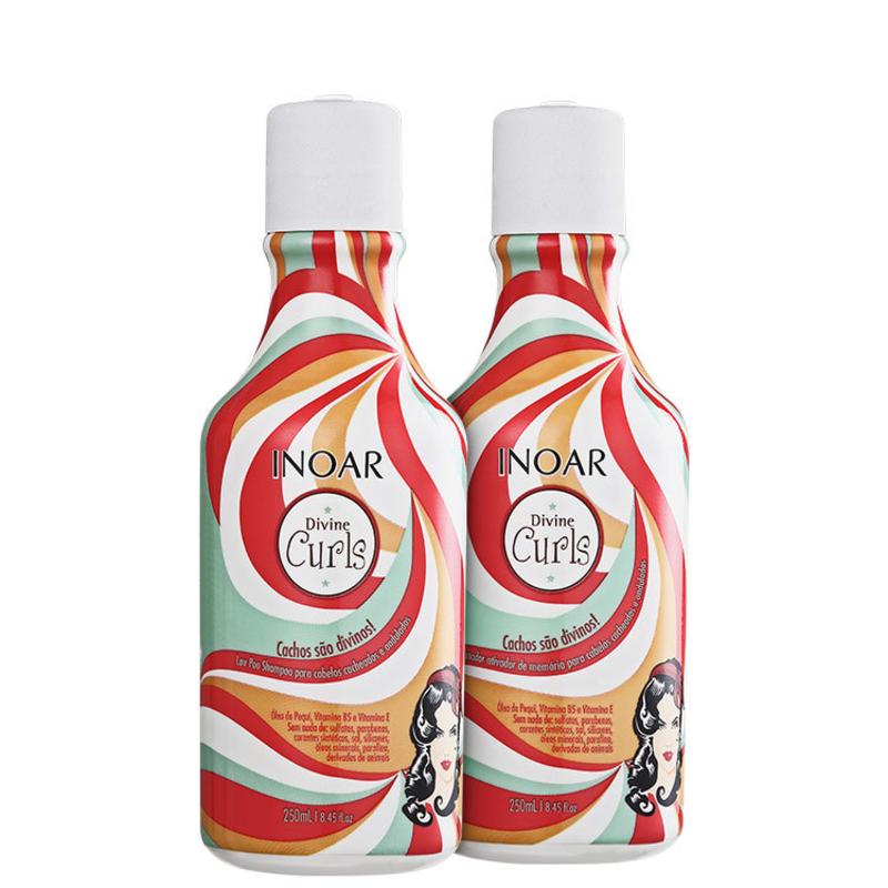 Inoar Divine Curls Duo Kit (2 produtos)