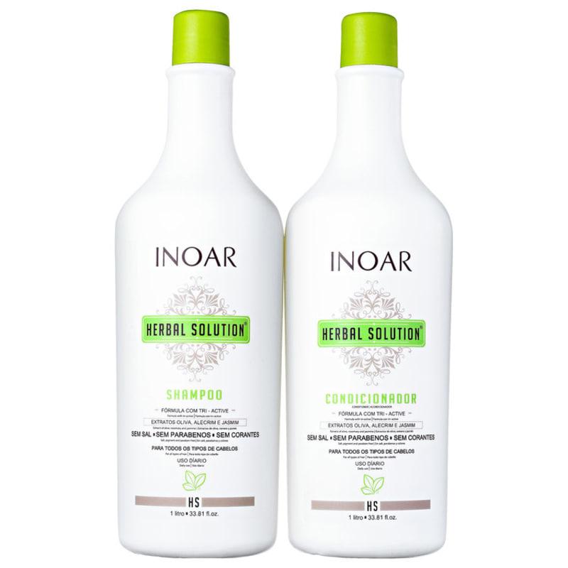 Inoar Herbal Solution Profissional Kit (2 Produtos)