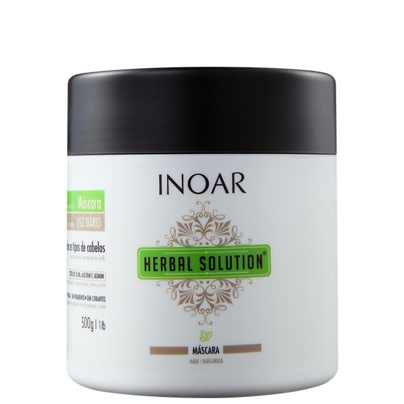 Inoar Herbal Solution - Máscara de Tratamento 500g