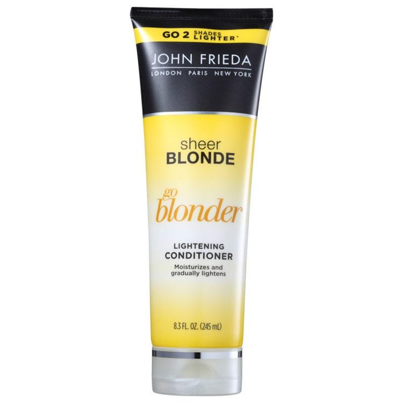 John Frieda Sheer Blonde Go Blonder Lightening Conditioner All Blondes - Condicionador 245ml