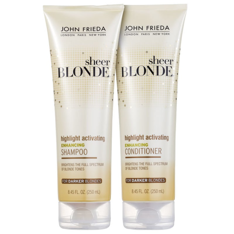 John Frieda Sheer Blonde Highlight Activating Darker Shades Duo Kit (2 Produtos)