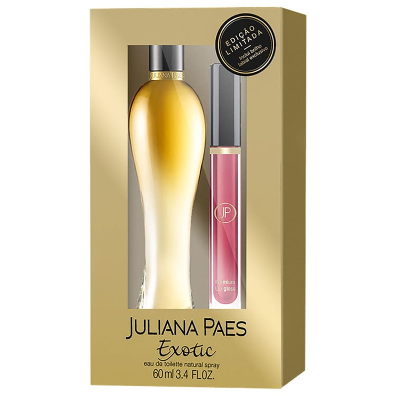 Conjunto Exotic Juliana Paes Feminino - Eau de Toilette 60ml + Gloss Labial