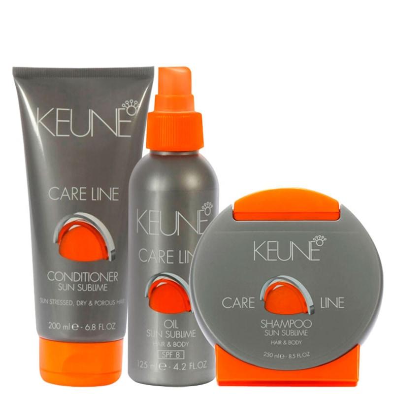 Keune Care Line Sun Sublime Kit (3 Produtos)