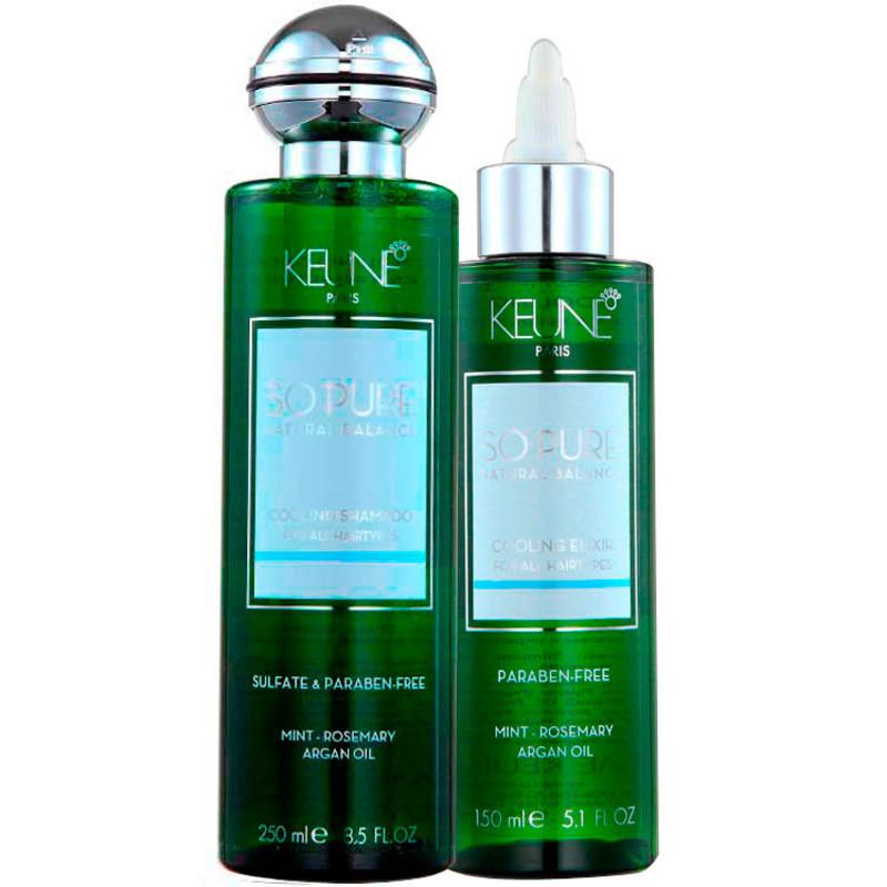 Keune So Pure Cooling Elixir Duo Kit (2 Produtos)