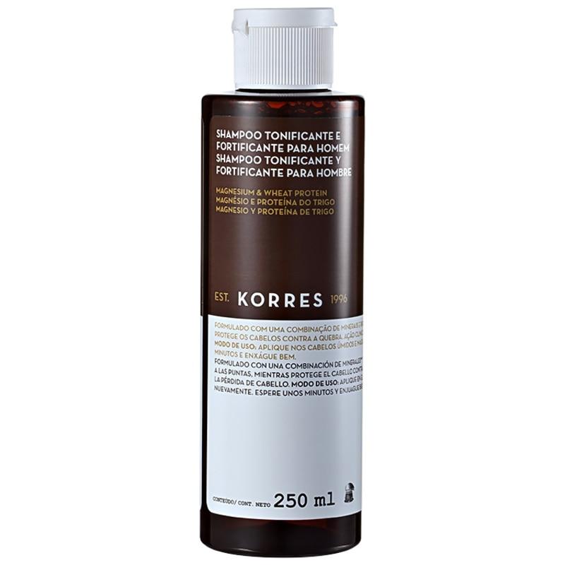Korres Magnesium & Wheat Protein - Shampoo Tonificante 250ml