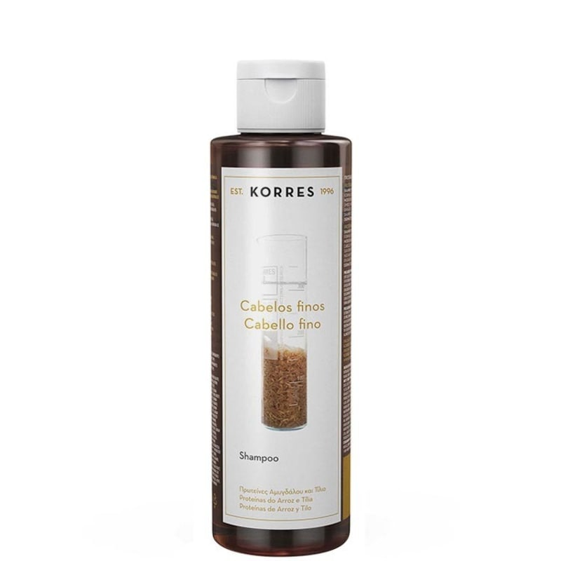 Korres Proteína de Arroz e Tília - Shampoo 250ml