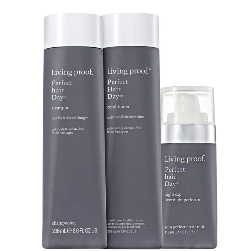 Living Proof Perfect Hair Day (PHD) Night Treatment Kit (3 Produtos)
